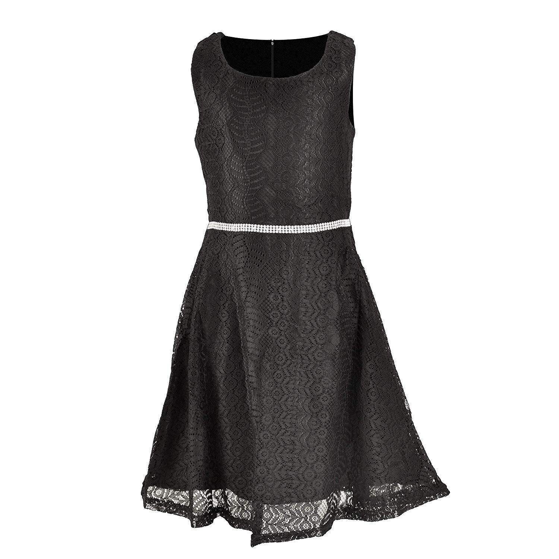 06334d7d599f8 MYA Robe de soirée en Dentelle et Strass (3-14 Ans) - Boutique MYA